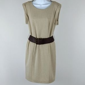 Calvin Klein fitted shift dress size 6